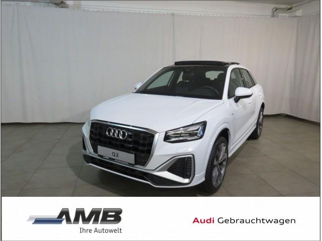Audi Q2 S line 35 TFSI S-tr/Matrix/AFA/B&O/VC/Nav+/Panod