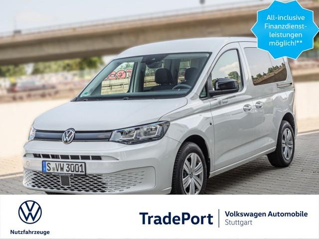 Volkswagen Caddy 5-Sitzer Motor: 2,0 l TDI EU6 SCR 75 kW Getriebe: 6-Gang-Schaltgetriebe Radstand: 2750 mm
