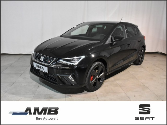 Seat Ibiza FR Black Edition 1.5 TSI DSG/LED/VC/beats