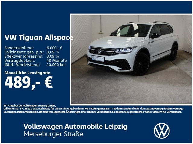 Volkswagen Tiguan Allspace R-Line 2.0 TDI 4MOTION 147kW DSG